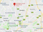Google address: Hurlingham Guest House 41 Iona Drive Hurlingham Sandton